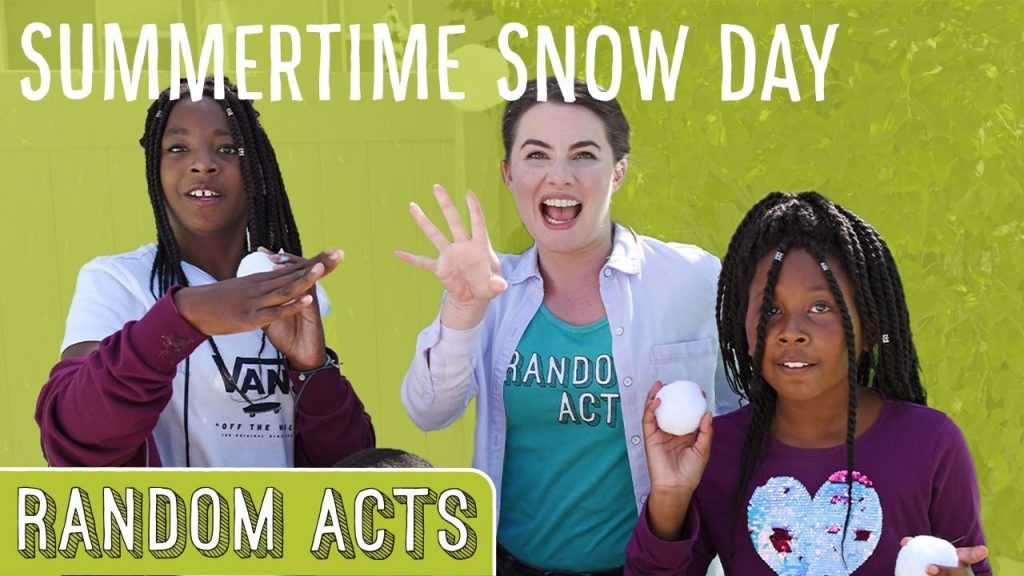 A Special Snow Day Surprise [Video]